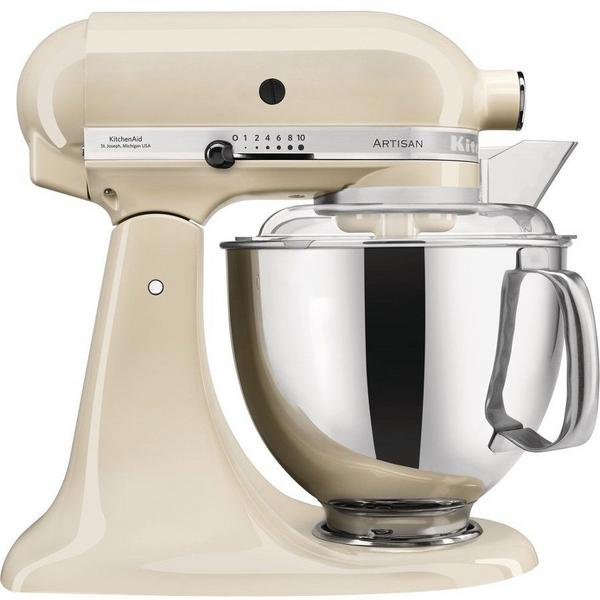 KitchenAid 5KSM175PSBAC Artisan 4.8 Litre Stand Mixer - Almond Cream