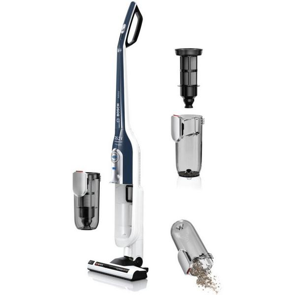 Bosch BCH6HYGGB Athlet ProHygienic Cordless Vacuum Cleaner - White - 60 Minute Run Time