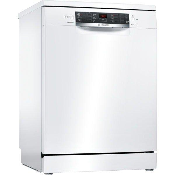 Bosch SMS46MW05G 14 Place Settings Full Size Dishwasher with VarioDrawer - White - A++