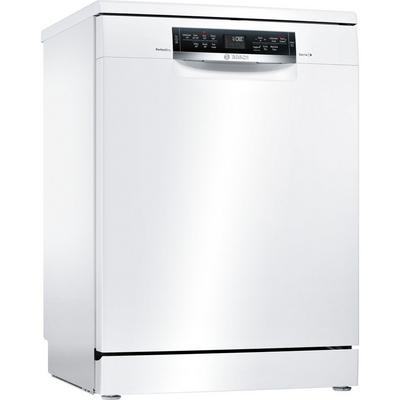 Bosch SMS67MW00G Full Size Dishwasher with PerfectDry - White - 14 Place Settings