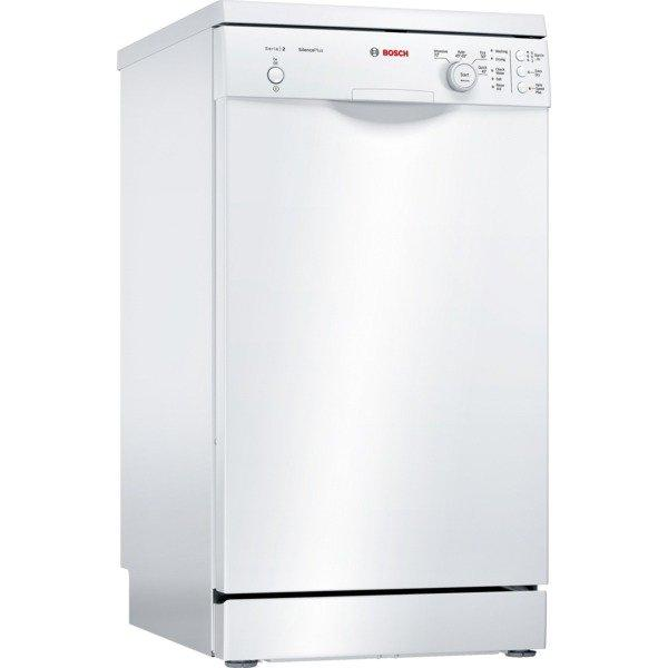 Bosch SPS24CW00G Slimline Dishwasher - White - A+ Rated