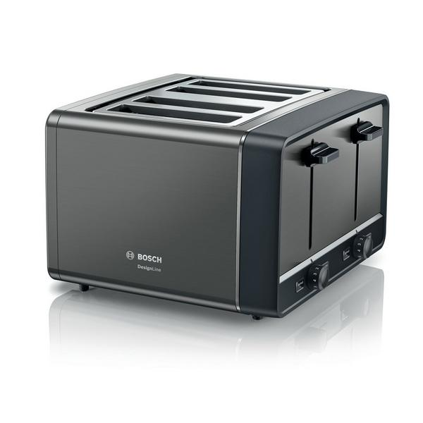 Bosch TAT5P445GB 4 Slice Toaster - Anthracite