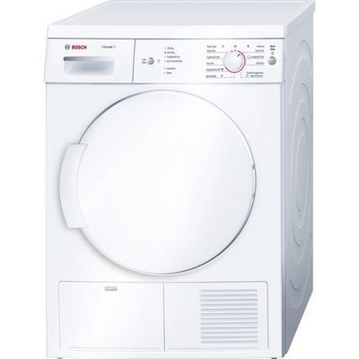 Bosch WTE84106GB 7kg Condenser Tumble Dryer - White - B Rated