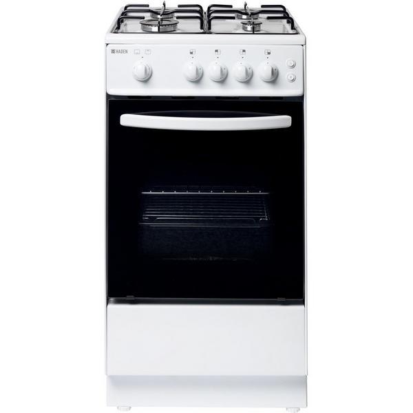 Haden HGS50W 50cm Single Oven Gas Cooker - White