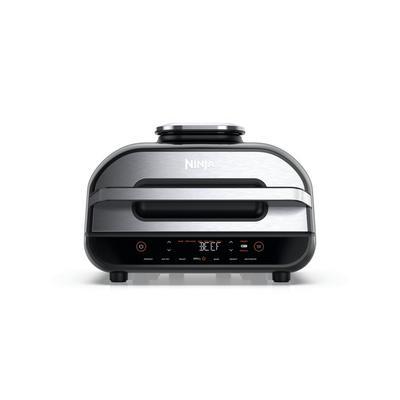 Ninja AG551UK Foodi MAX Health Grill & Air Fryer - Black/Stainless Steel