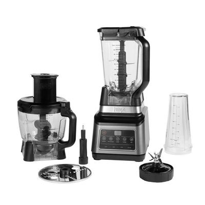 Ninja BN800UK 3-in-1 Blender and Food Processor with Auto IQ - Black/Silver