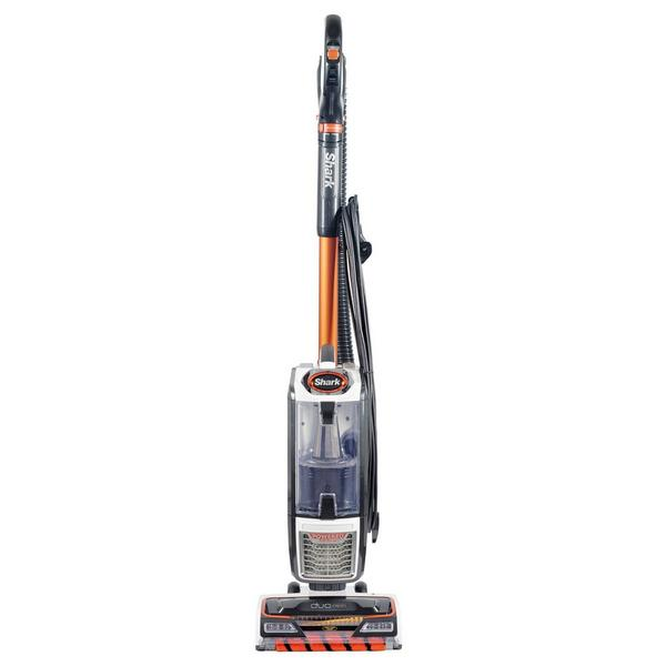 Shark NZ801UK Anti Hair Wrap Upright Vacuum Cleaner with Powered Lift- Away - White