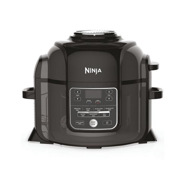 Ninja Foodi OP300UK 6L 7-in-1 Multi Pressure Cooker and Air Fryer - Black