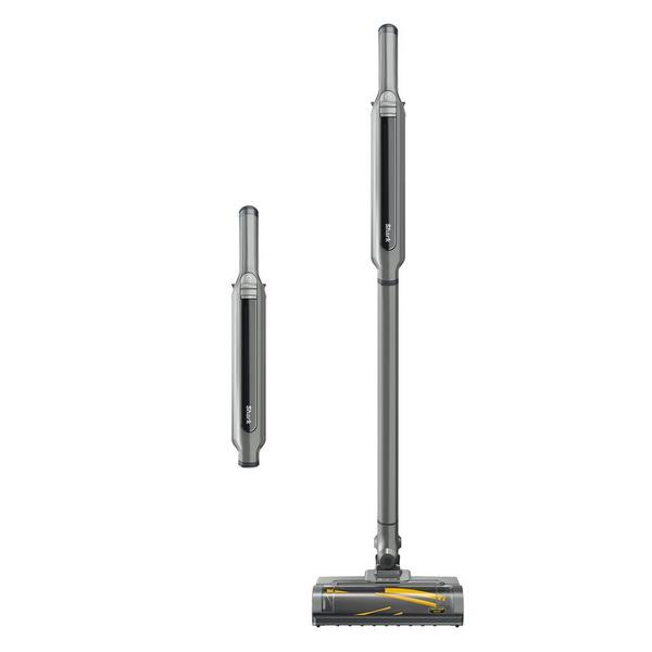 Shark WV361UK Cordless Vacuum Cleaner with Anti Hair Wrap Technology - Run Time 16 Mintues - Steel Grey