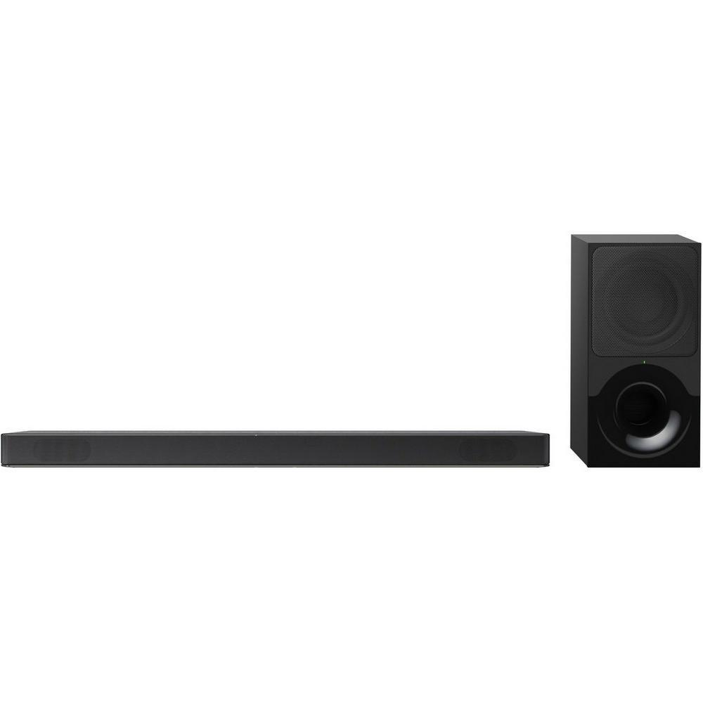 1 Soundbar Bluetooth Sony 300w Channel Wireless Atmos 2 Flat Dolby Htxf9000cek - Subwoofer