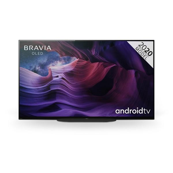 """Sony KD48A9BU BRAVIA® 48"""" OLED 4K Ultra HD HDR Smart Android TV – Black"""