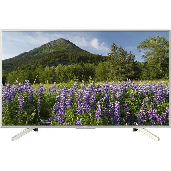 "Sony KD49XF7073SU 49"" UHD TV - Sony Bravia 4K UHD HDR TV - Freeview HD - Freeview Play - Silver"