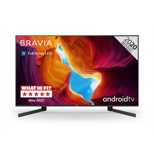 """Sony KD49XH9505BU 49"""" 4K Ultra HD HDR Full Array LED Android TV with Google Assistant"""