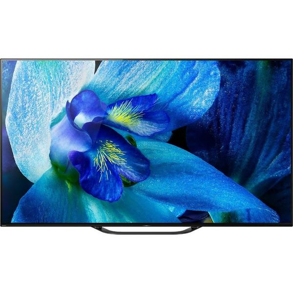 """Sony KD55AG8BU 55 """"4K OLED UHD HDR SMART Android TV - X1 Extreme Processor - TRILUMINOS Display - Google Assistant -B Rated"""