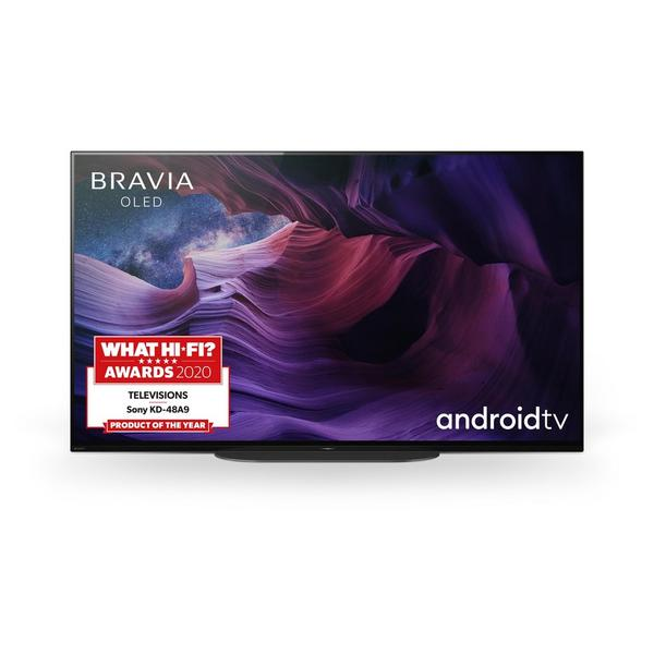 """Sony KE48A9BU 48"""" OLED 4K Ultra HD HDR Smart Android TV with Google Assistant Black"""