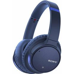 Sony - WHCH700NLCE7 Headphones Blue Noise Cancelling Over Ear With Mic/Remote