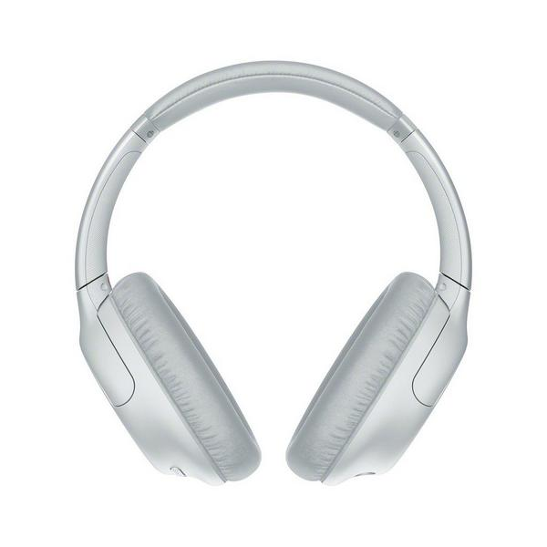 Sony WHCH710NWCE7 Wireless Over Ear Noise Cancelling Headphones - White