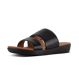 Leather Slide Sandals by Delta
