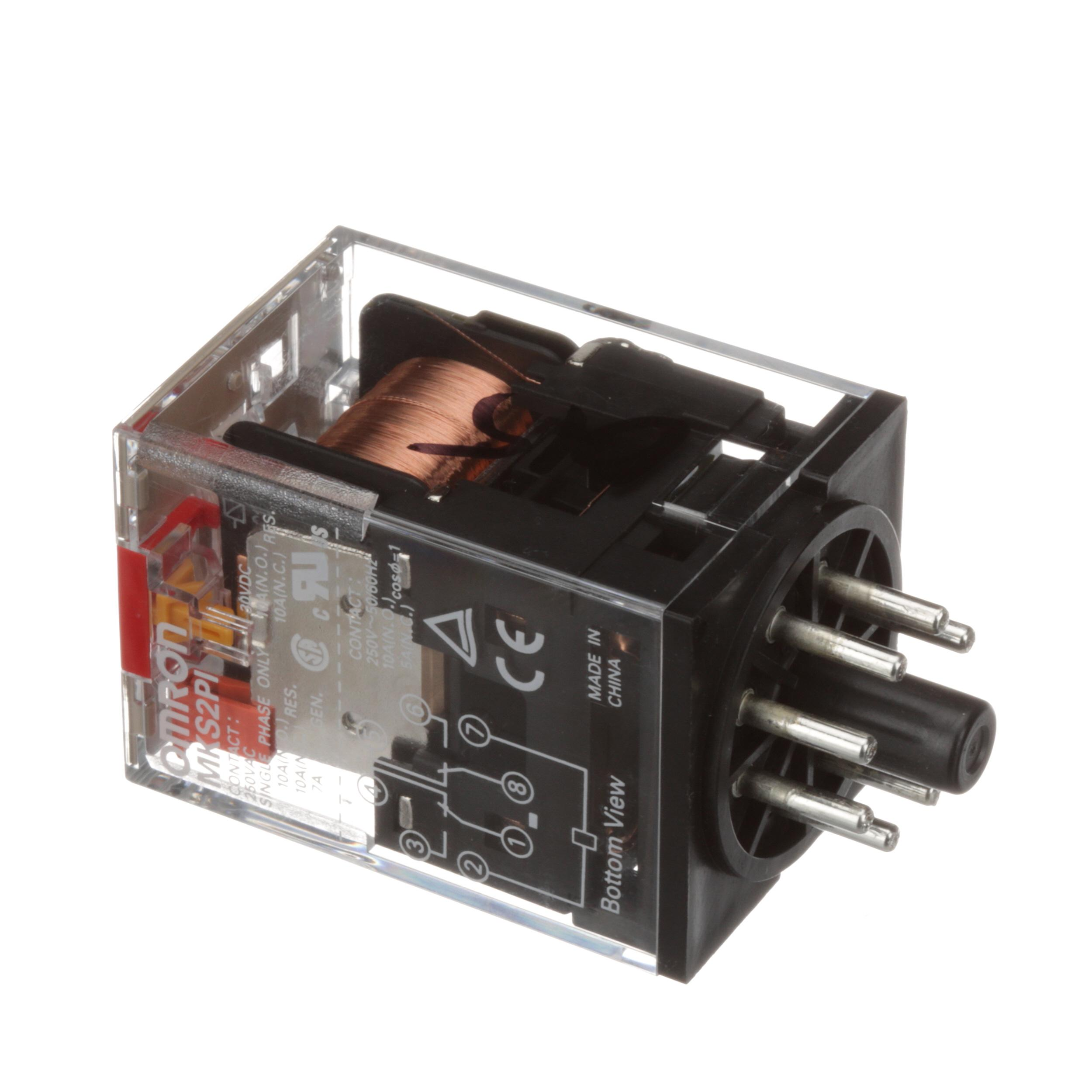 Doyon Equipment Omron Relay 8 Pins 10 Amps 120v 2 Poles For Proofer Electric Oven Of