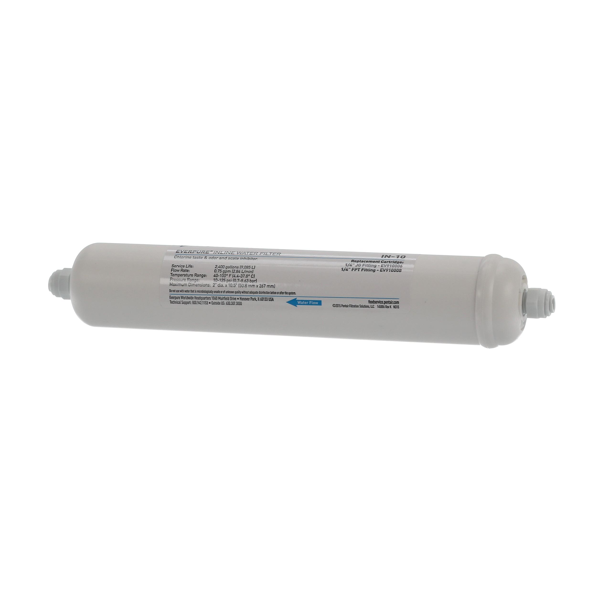 EVERPURE IN-LINE FILTER W/ FITTINGS