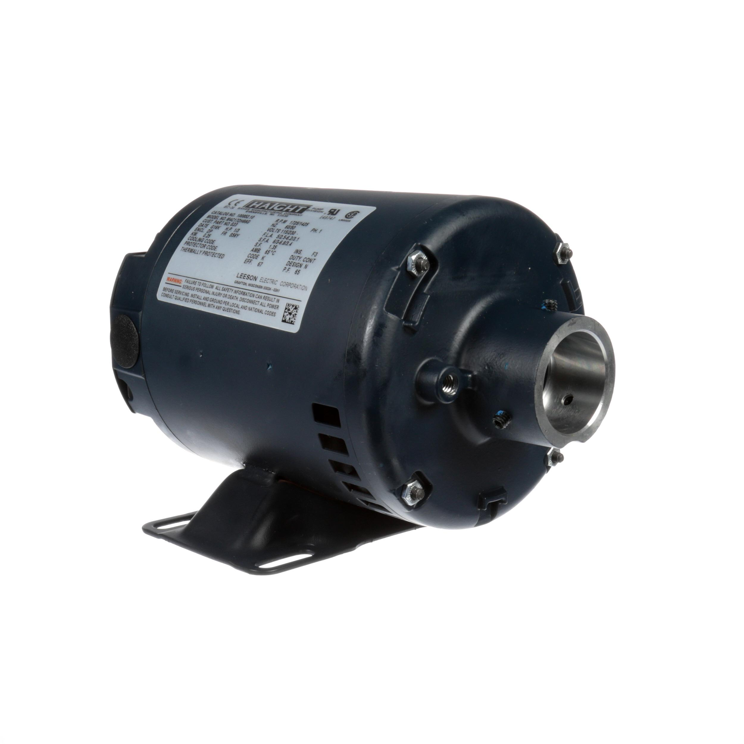Frymaster Motor Pump 120 230v 1 3 Hp Part 8102100