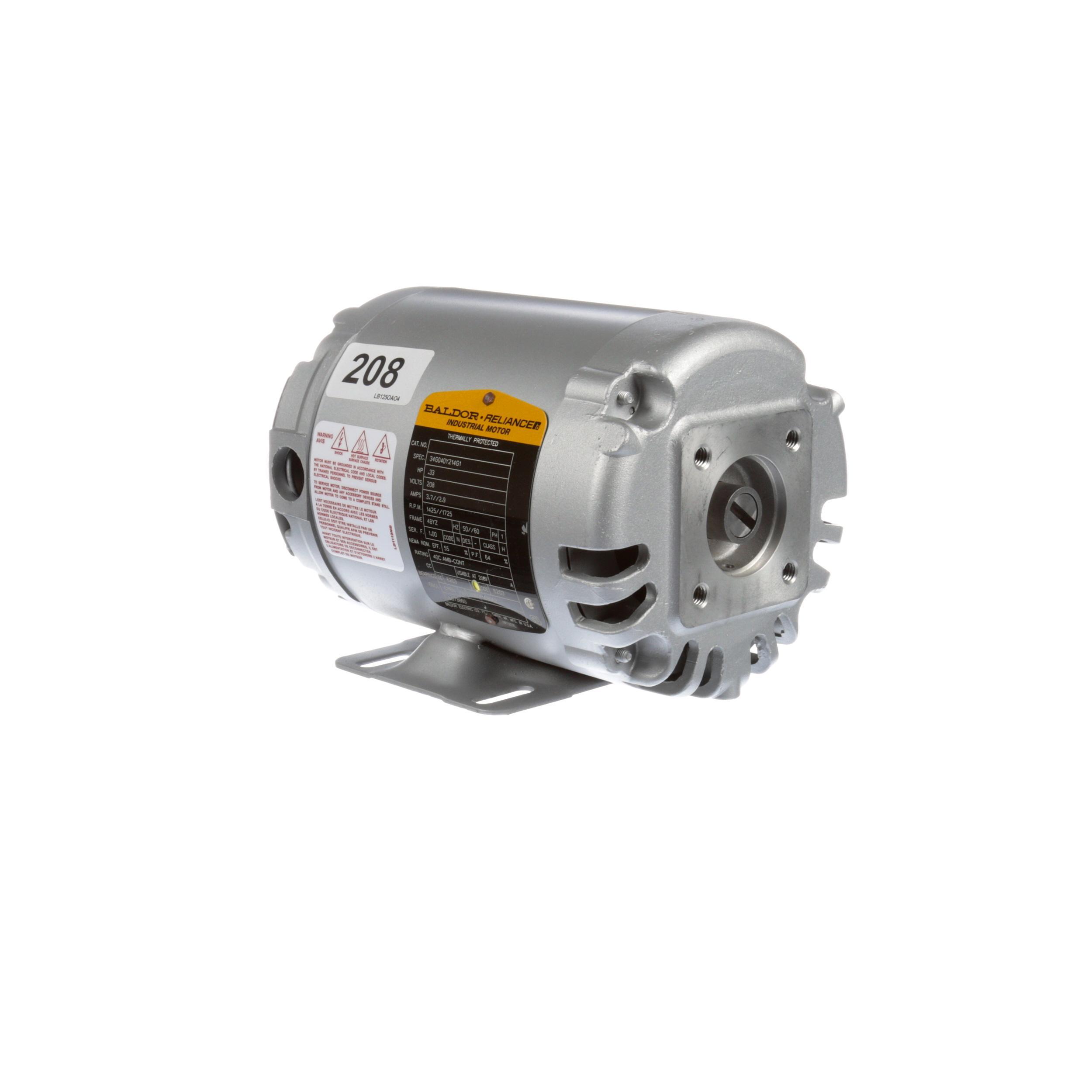 FRYMASTER KIT,MOTOR/GASKET 208V 50/60 HZ