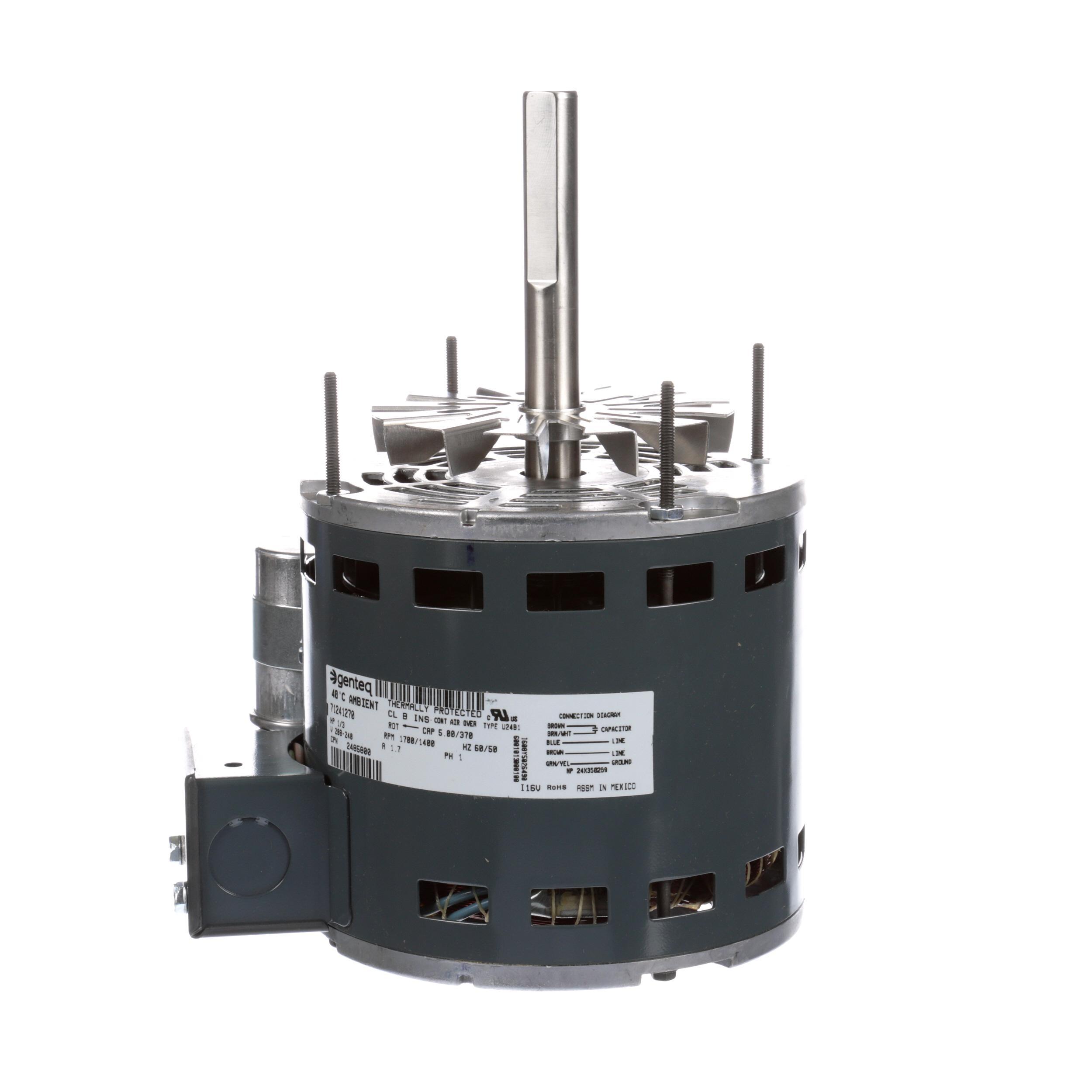 Garland motor psc 1 3 hp 208 240v 50 6 part 2485800 for 1 3 hp psc motor