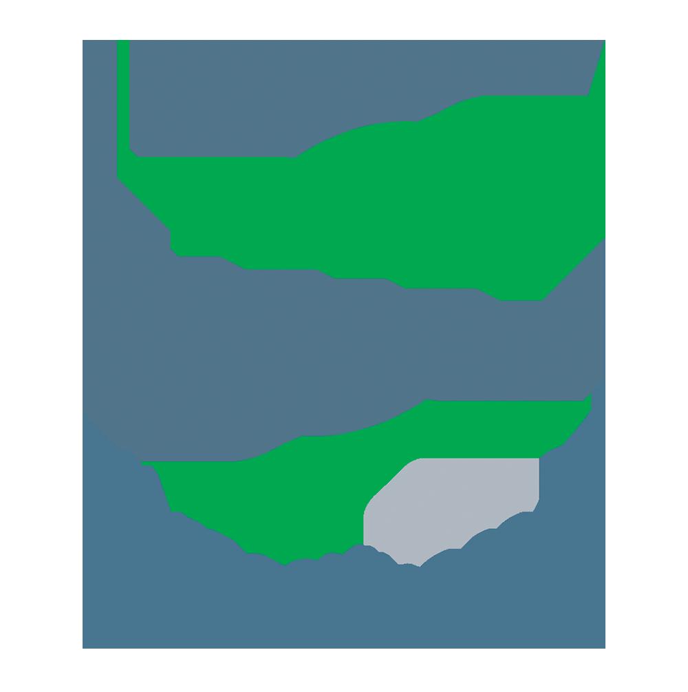 HUSSMANN PTM-FLD INSTL 2.25 DOOR RTNR GRAY 44IN