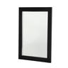 GLASTENDER GLASS DOOR, BLACK VINYL FRAME