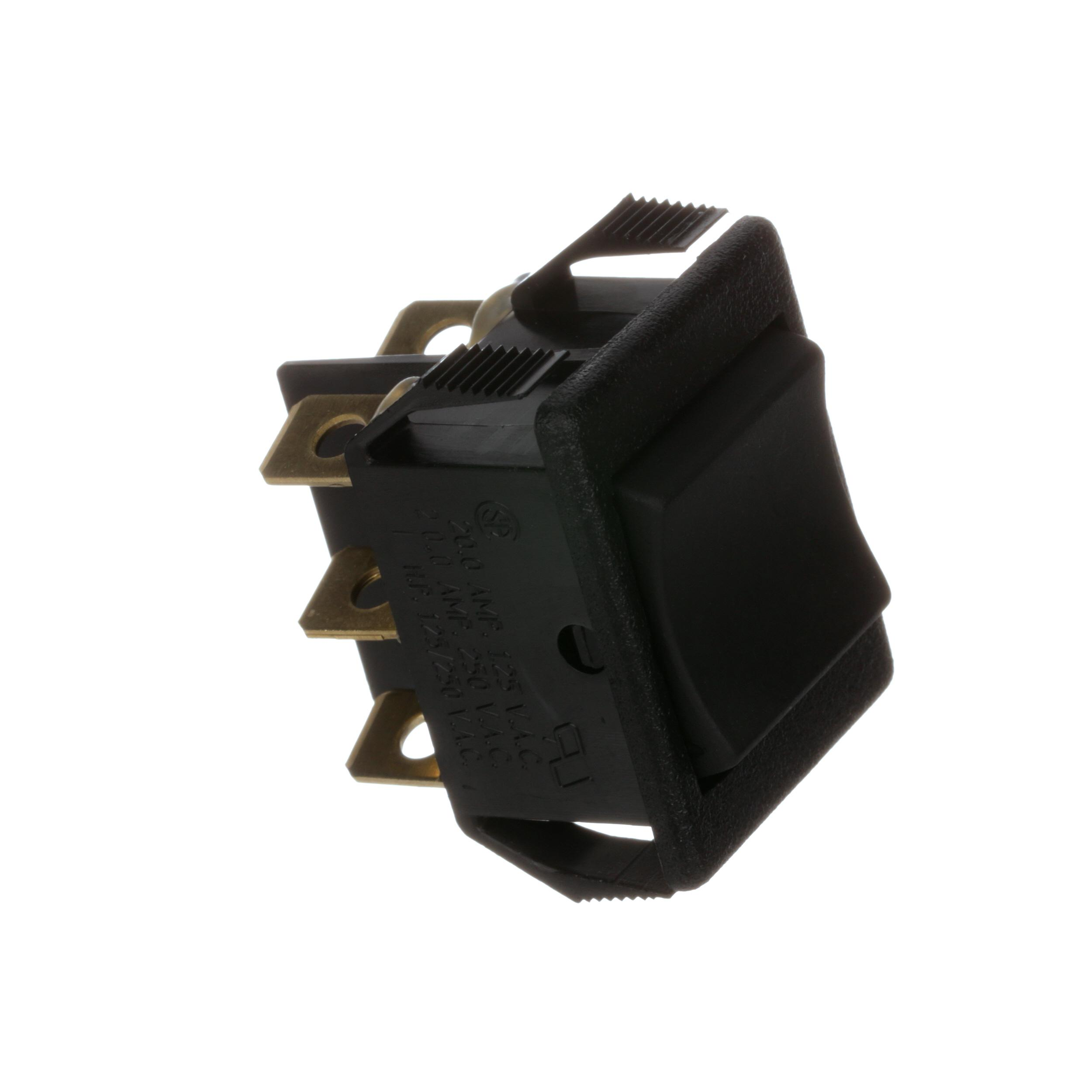 ICE-O-MATIC ROCKER SWITCH, ON/OFF/WAS