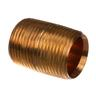 JACKSON NIPPLE, 3/4 NPT X 1-3/8 CLOSE BRASS