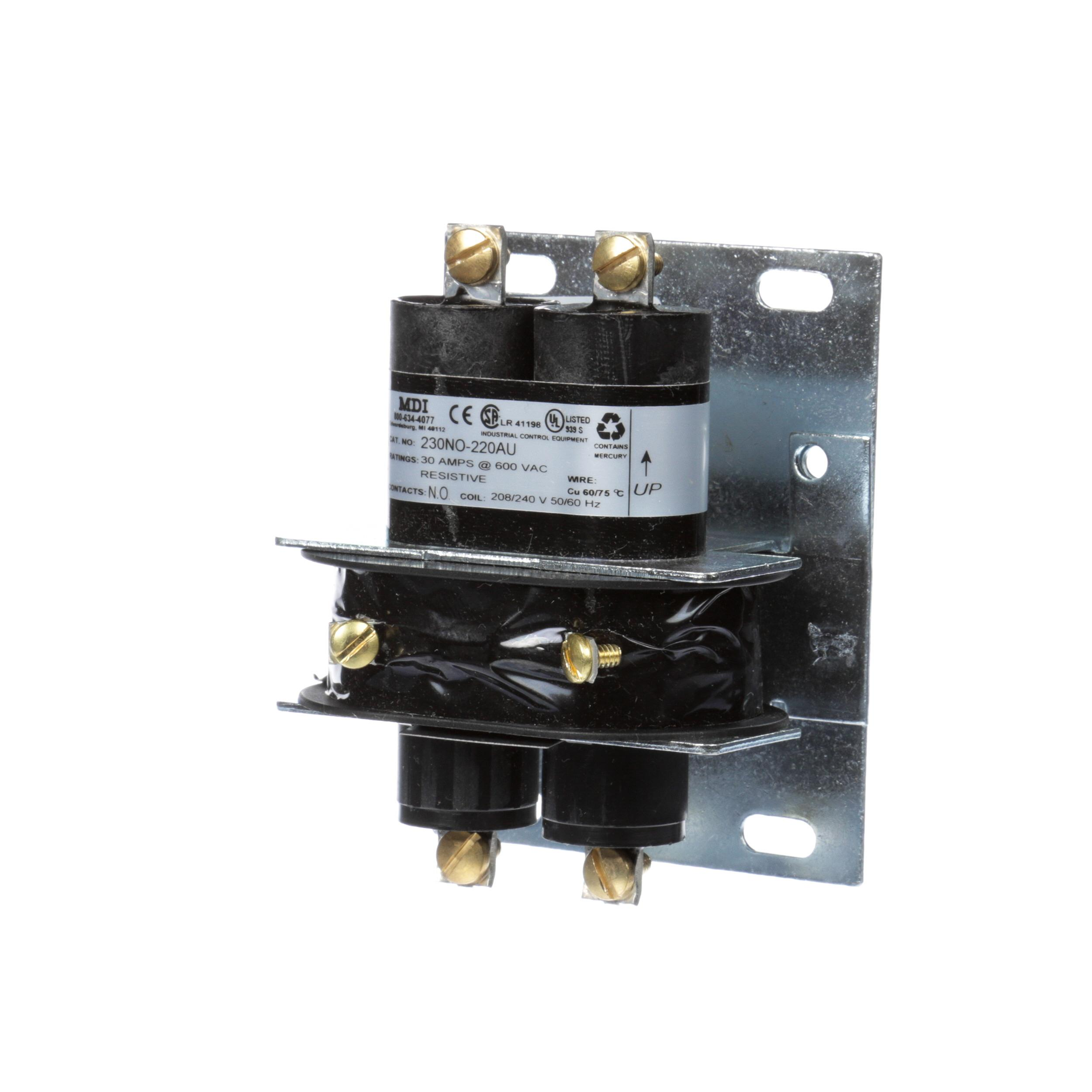 LINCOLN MANUFACTURING CONTACTOR RELAY