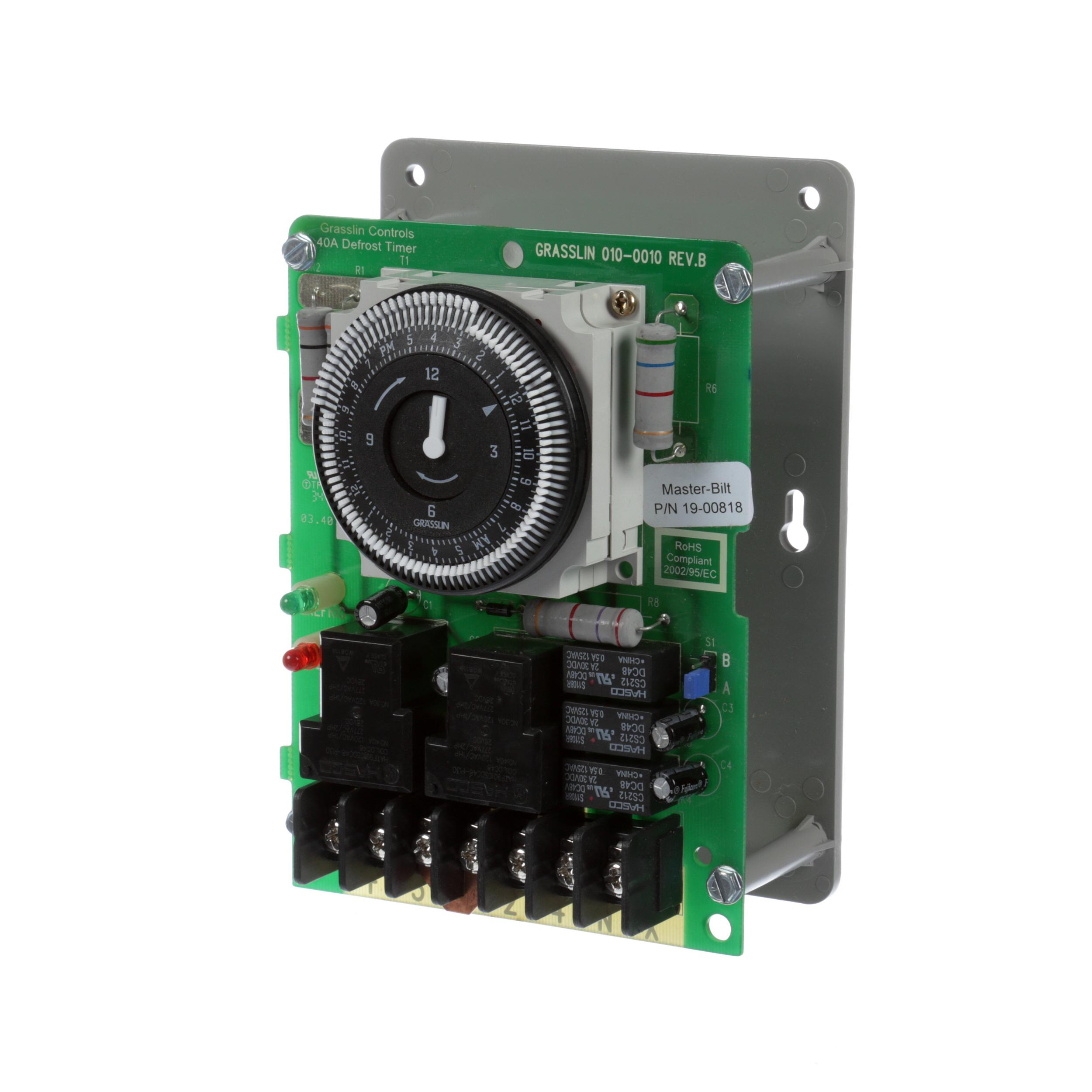 MASTER-BILT TIMER, UNIT ON BRACKET PARAG