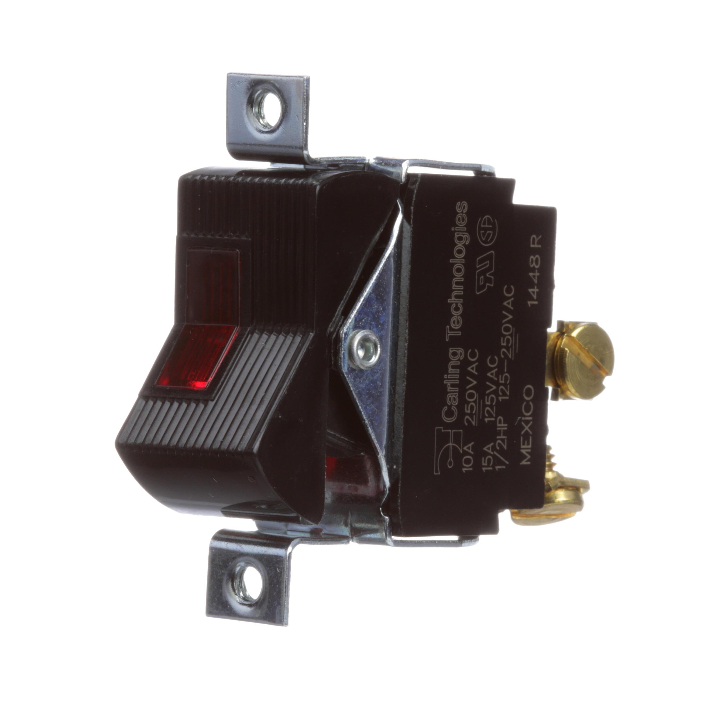 RANDELL SWITCH,15A LIGHTED 4X216