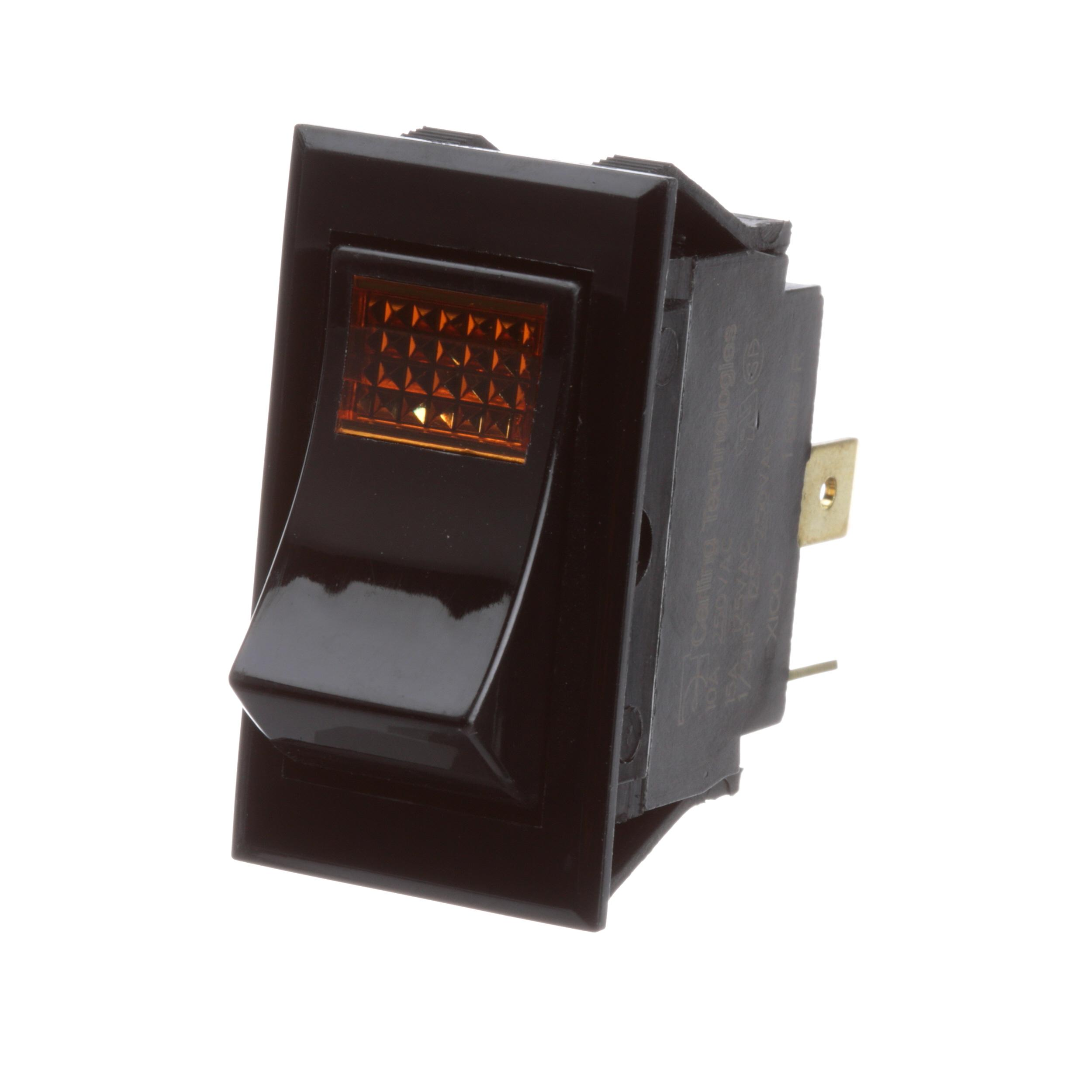 SOUTHBEND RANGE SWITCH,ROCKER W/LIGHT,115V
