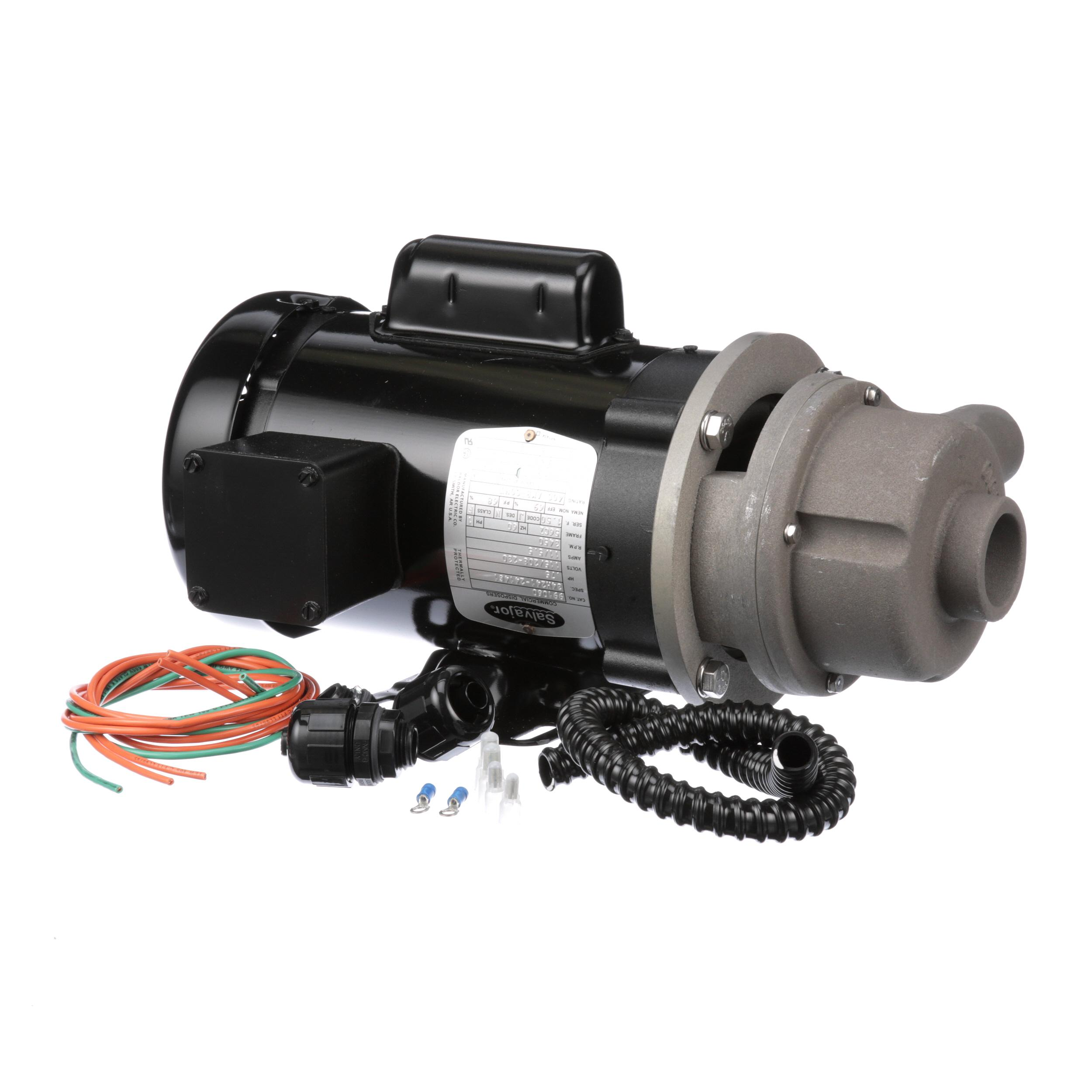 Salvajor Pump Motor Assy Part 980076