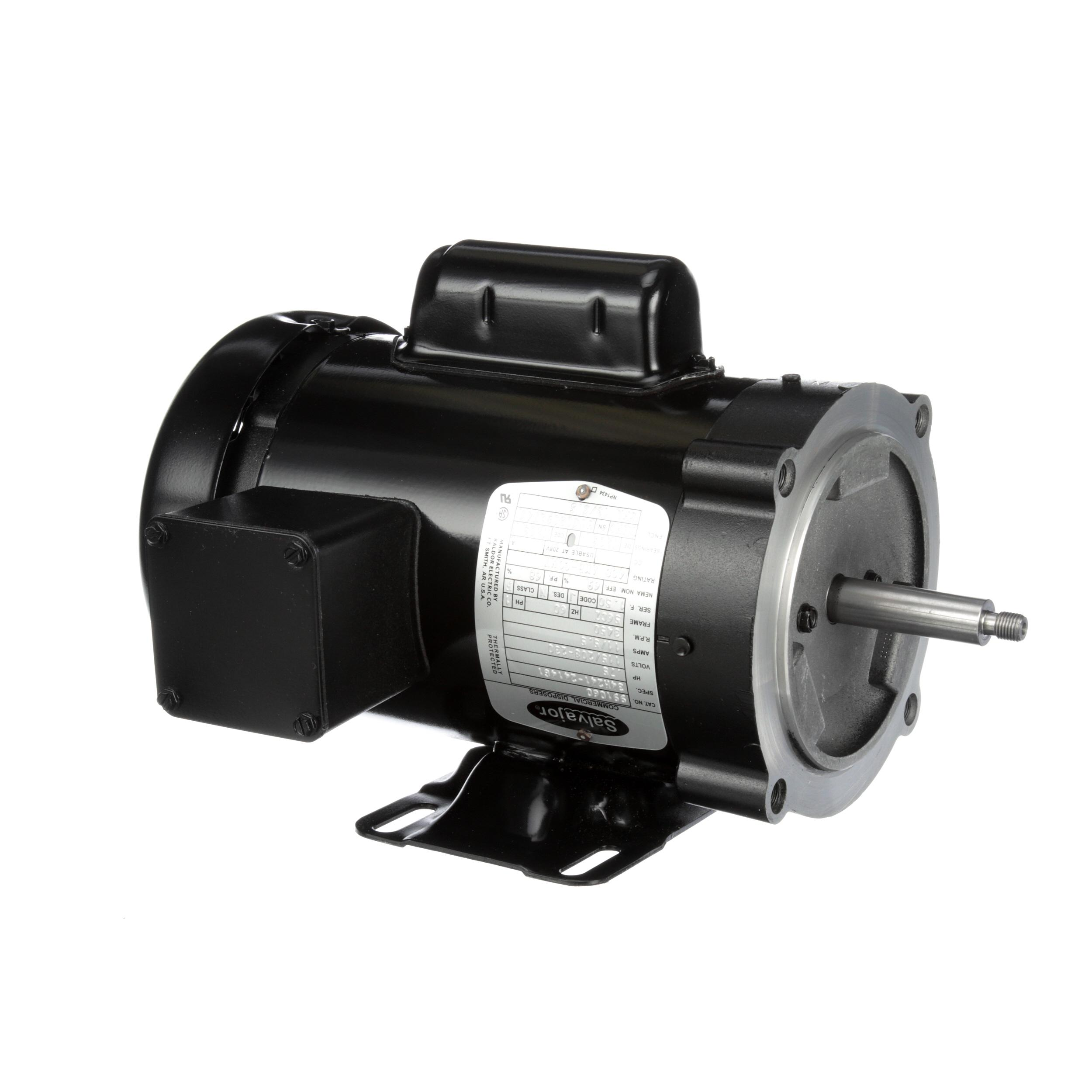 Salvajor Motor Pump 3 4 Hp 1p Part 991060