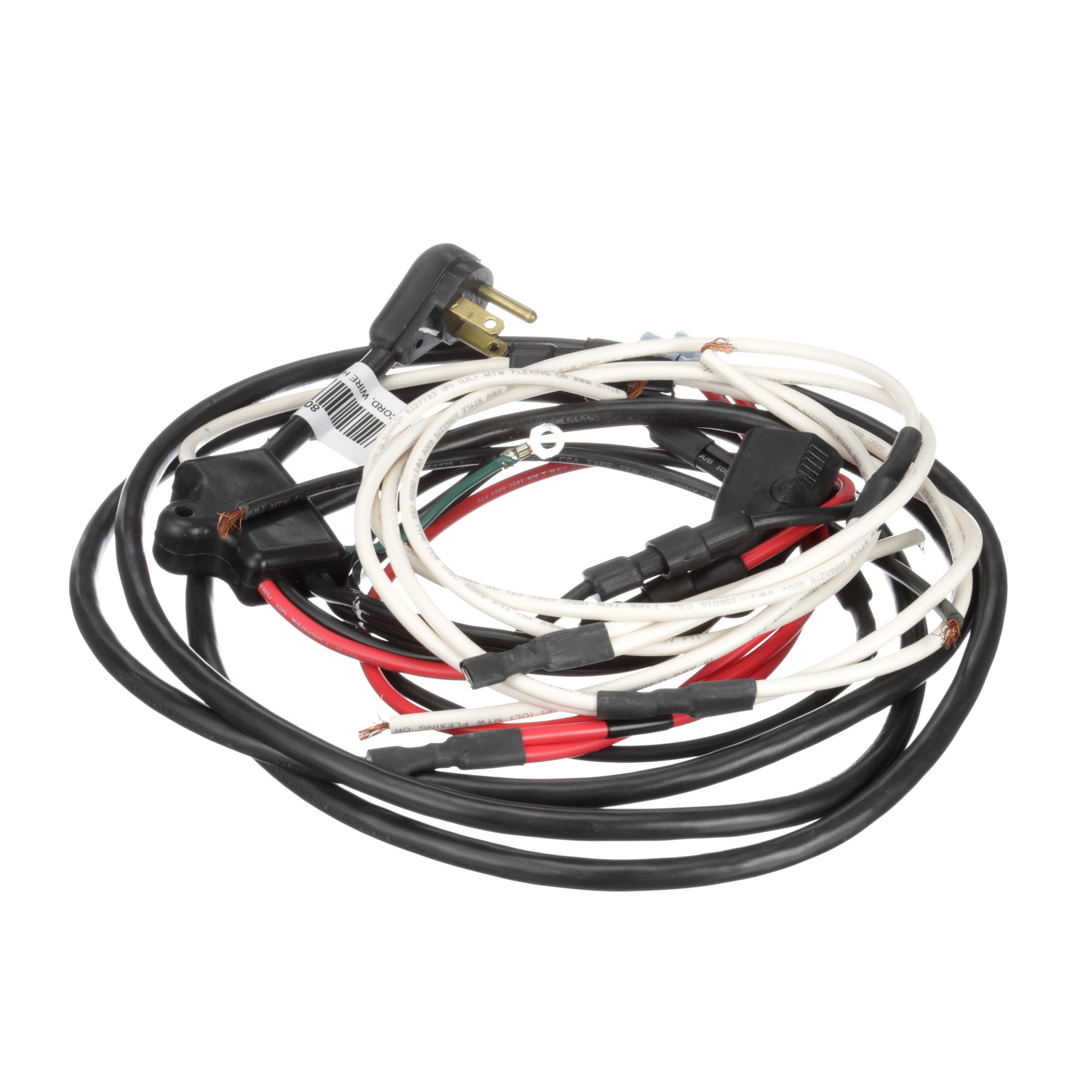 True Power Cord Wire Harness P 32 Plug 115v Part 801712 Supply Wiring