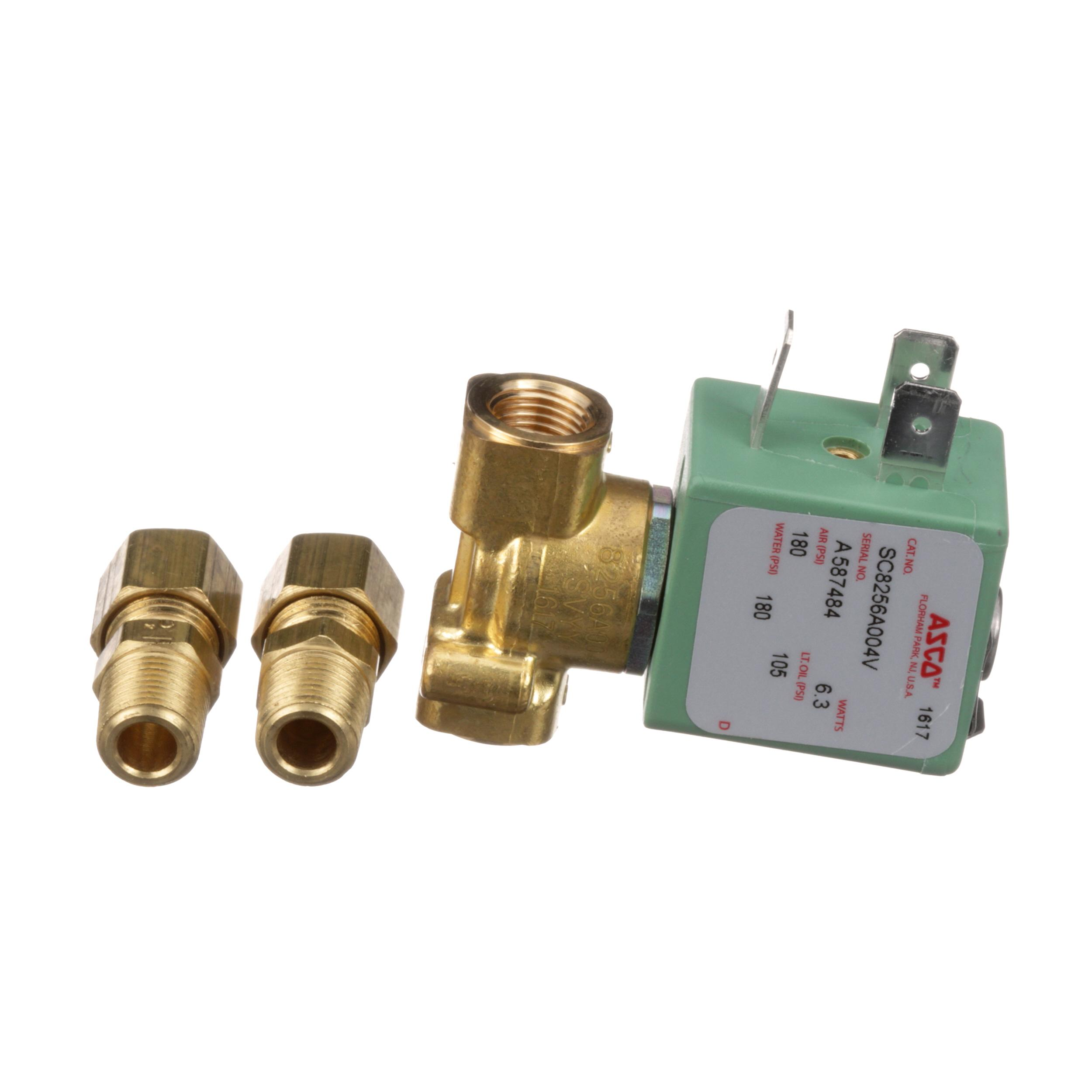 WINSTON PRODUCTS SOLENOID WATER 120V BRASS