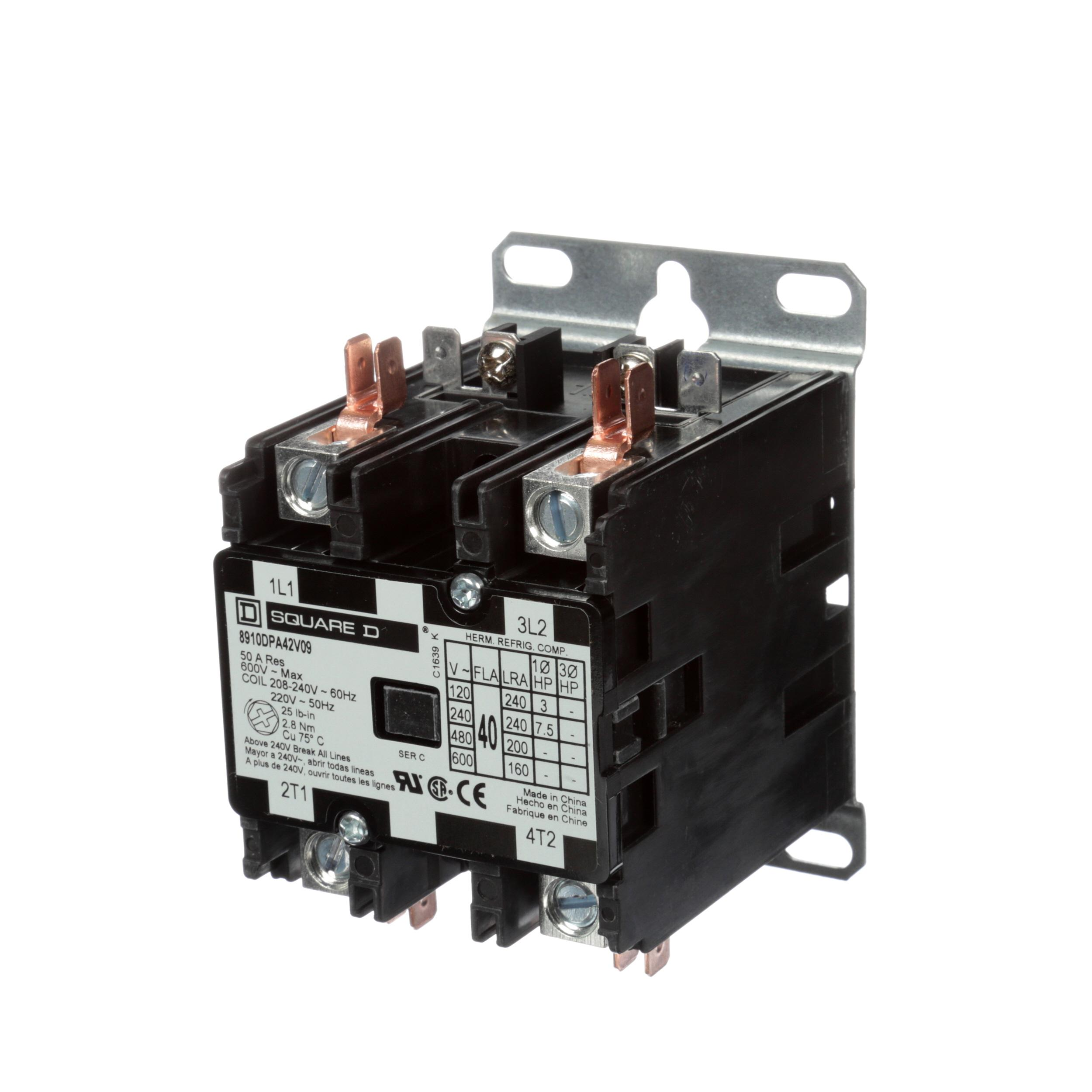 WITTCO CONTACTOR-2POLE208/240V