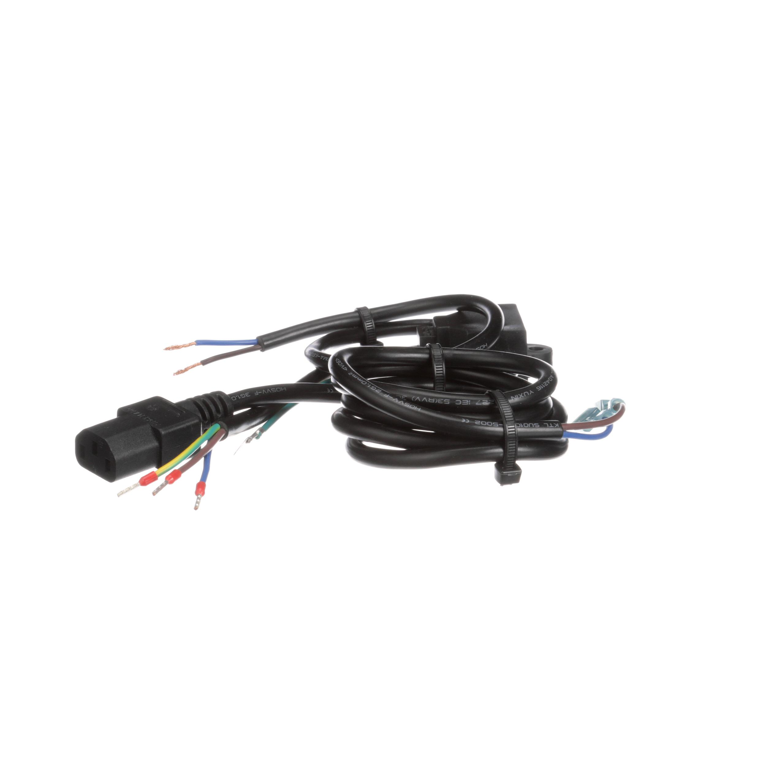 Power Cord Harness : True power cord for vde ce with over tinned ends