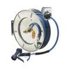 T&S BRASS HOSE REEL 50FT W/ BLUE SPRY GN