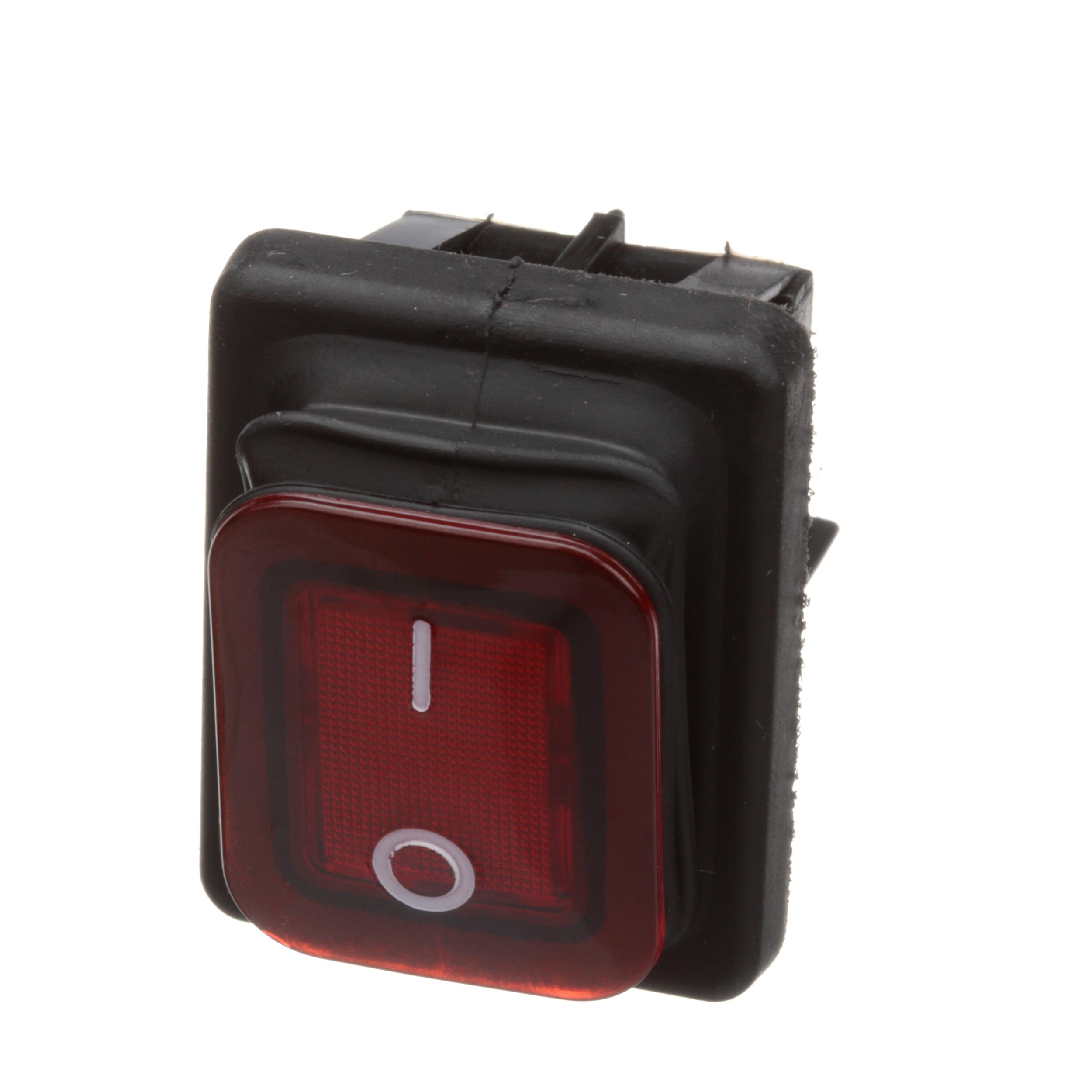 COMMERCIAL PRO RED ON/OFF SWITCH W/ BOOT