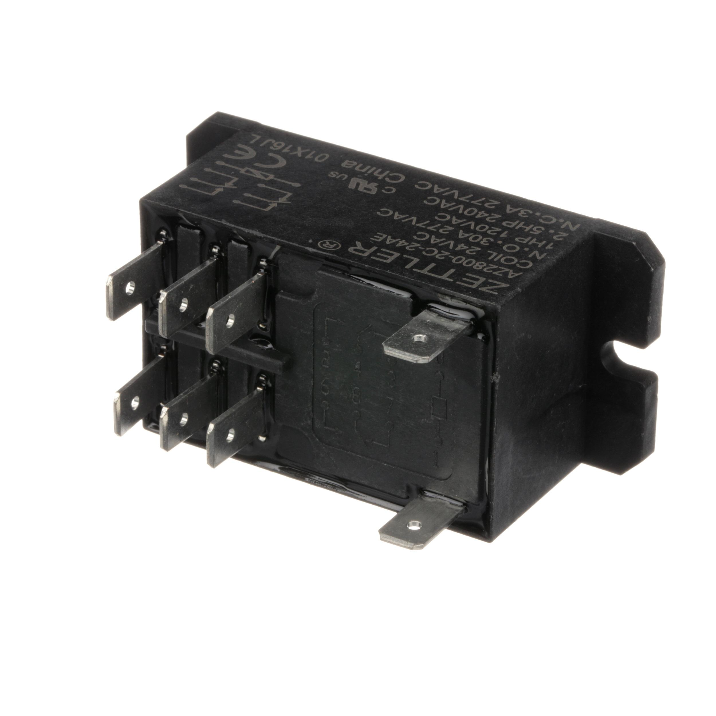 LANG RELAY-2POLE,30A@24VAC,MTR
