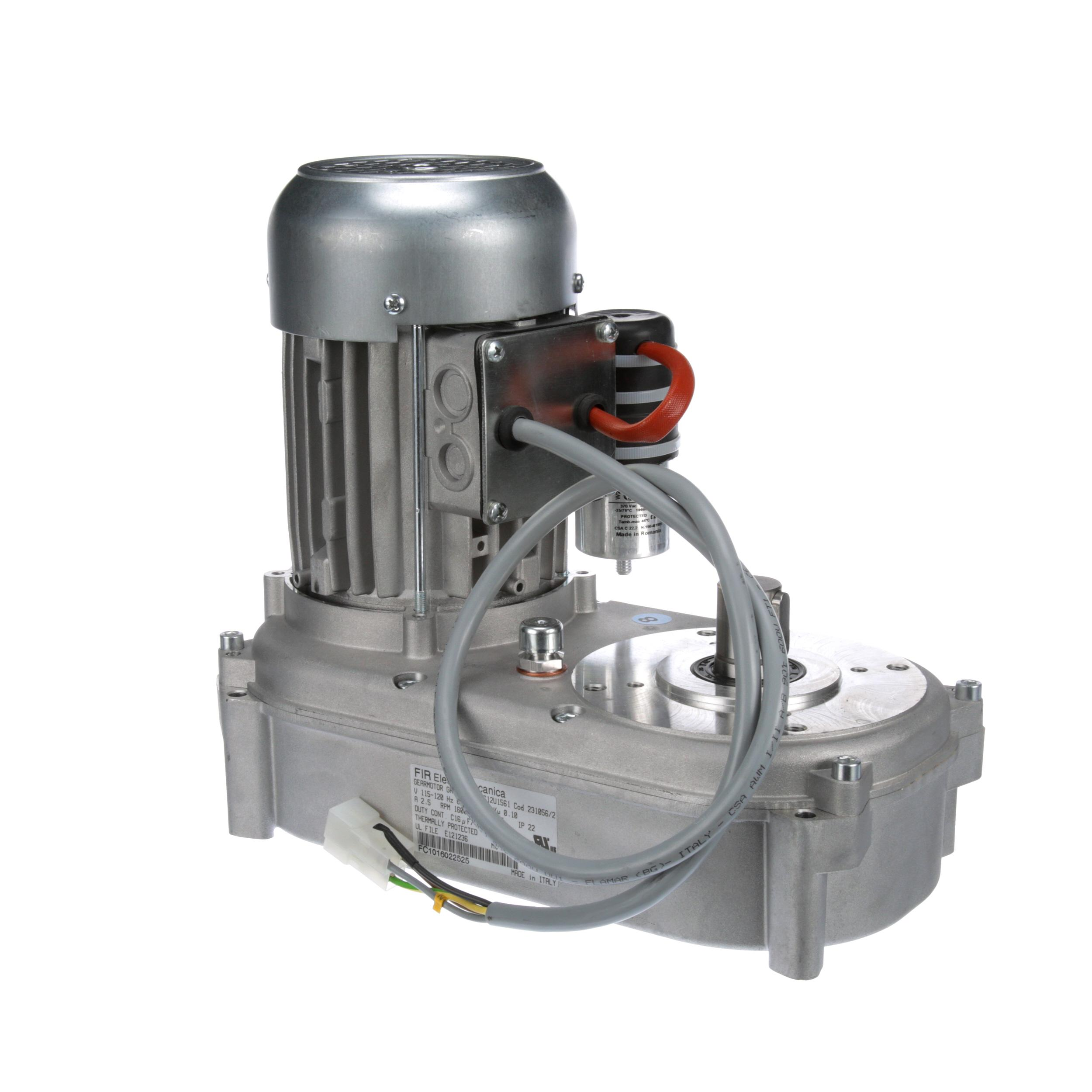 Manitowoc Gear Motor Assy W O Centrifugal Sw 115v Part