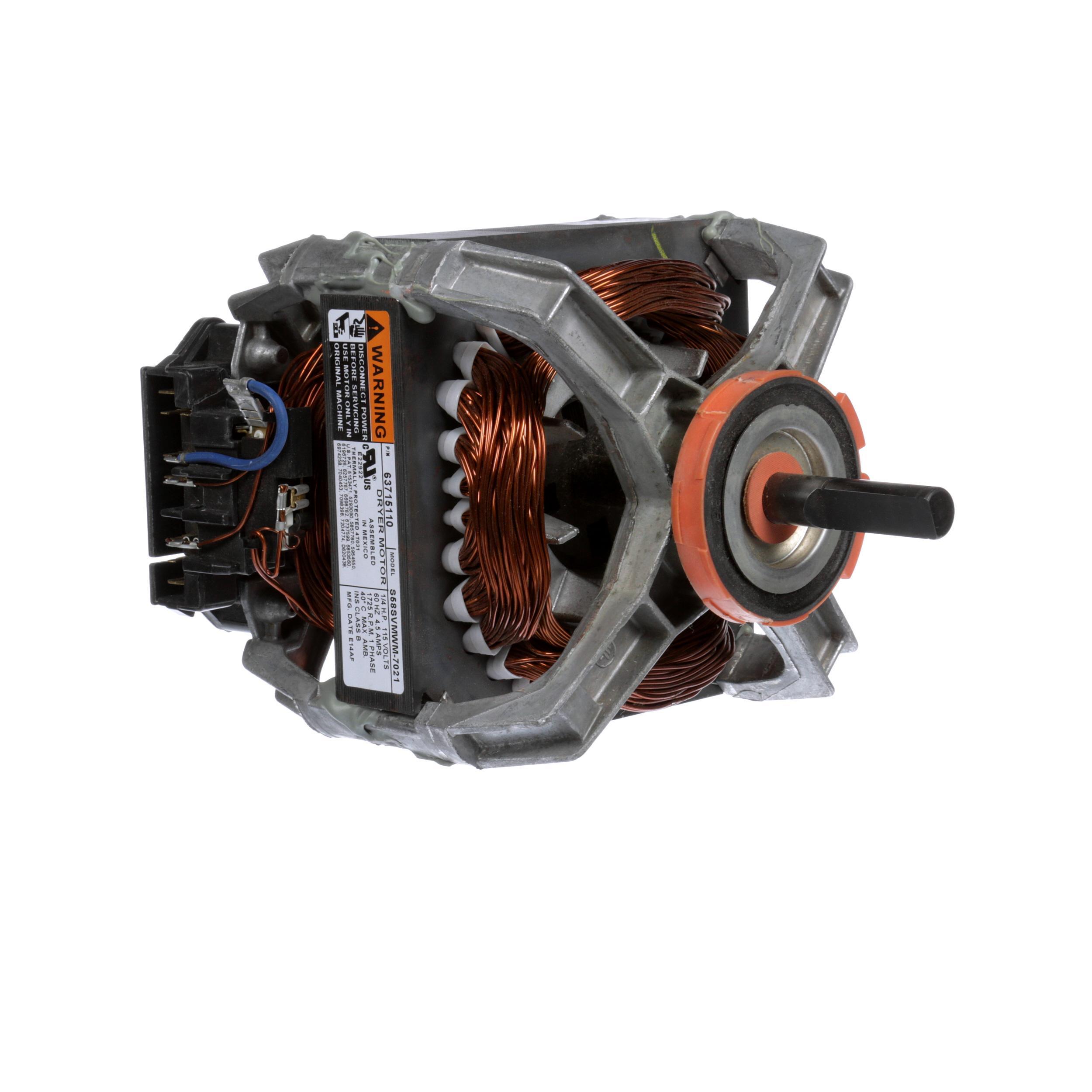 Whirlpool Motor For Dryer Part 10410997