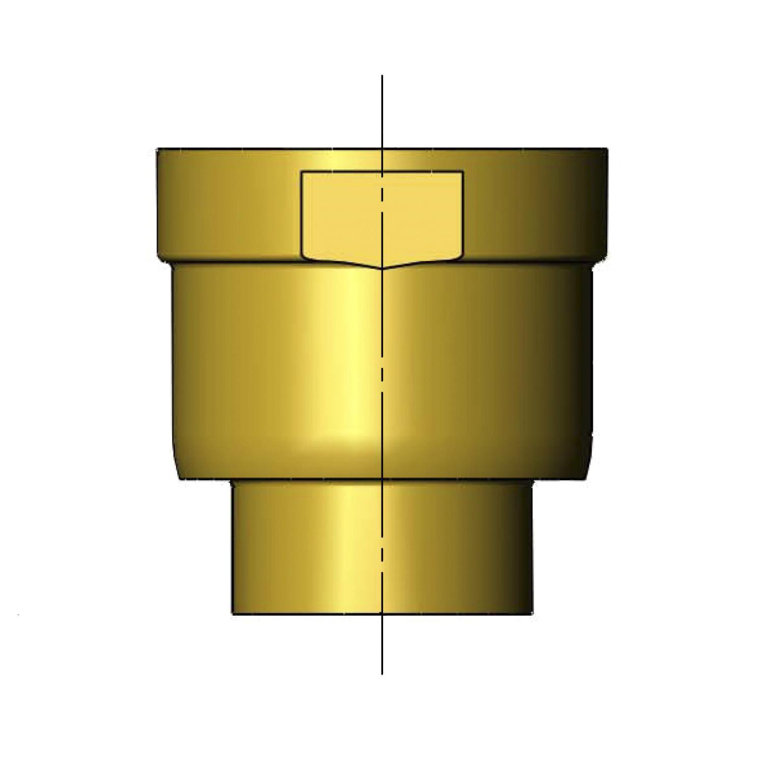 T&S BRASS OUTLET NIPPLE