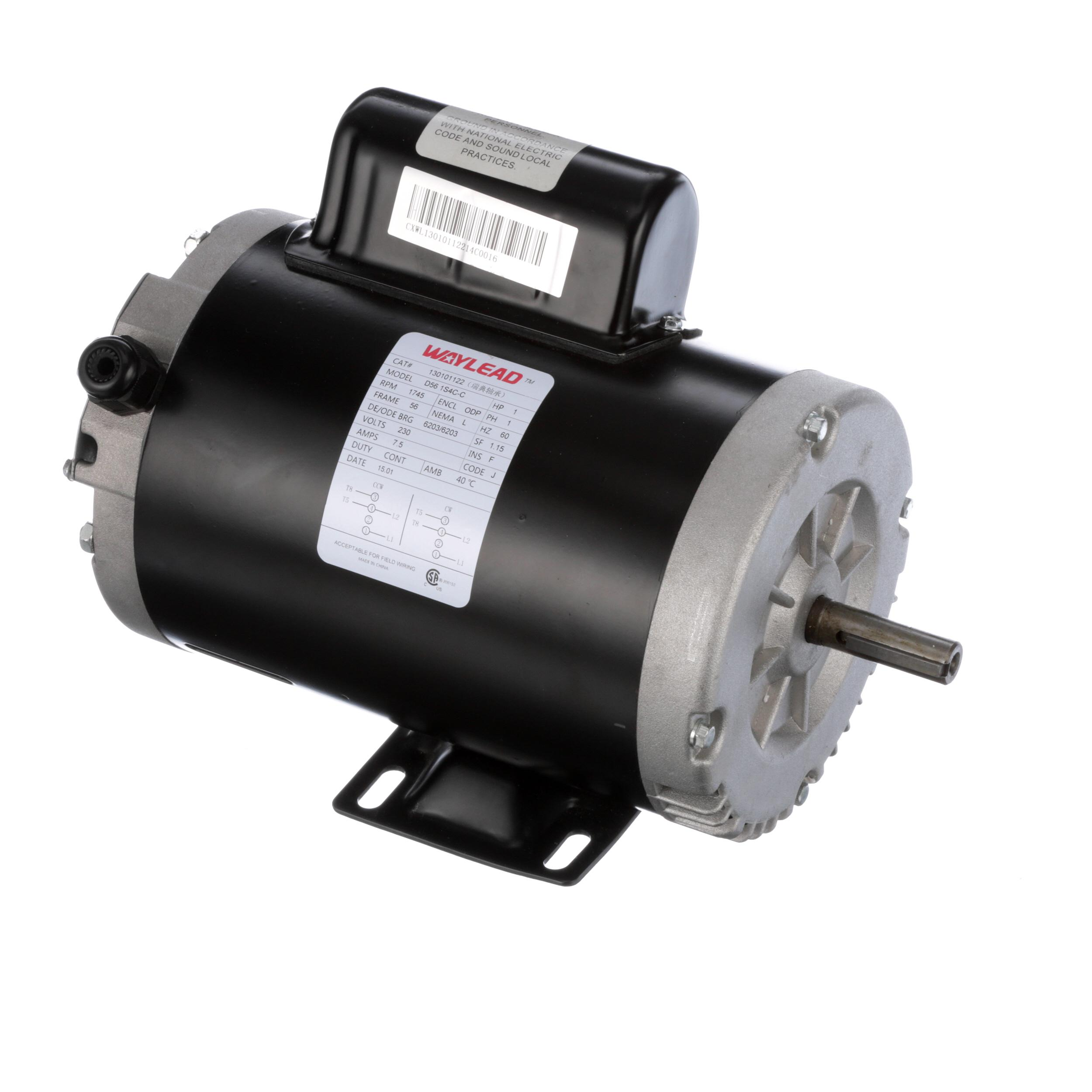 Donper usa beater motor 230v 60hz part 130101122 for Motor manufacturers in usa