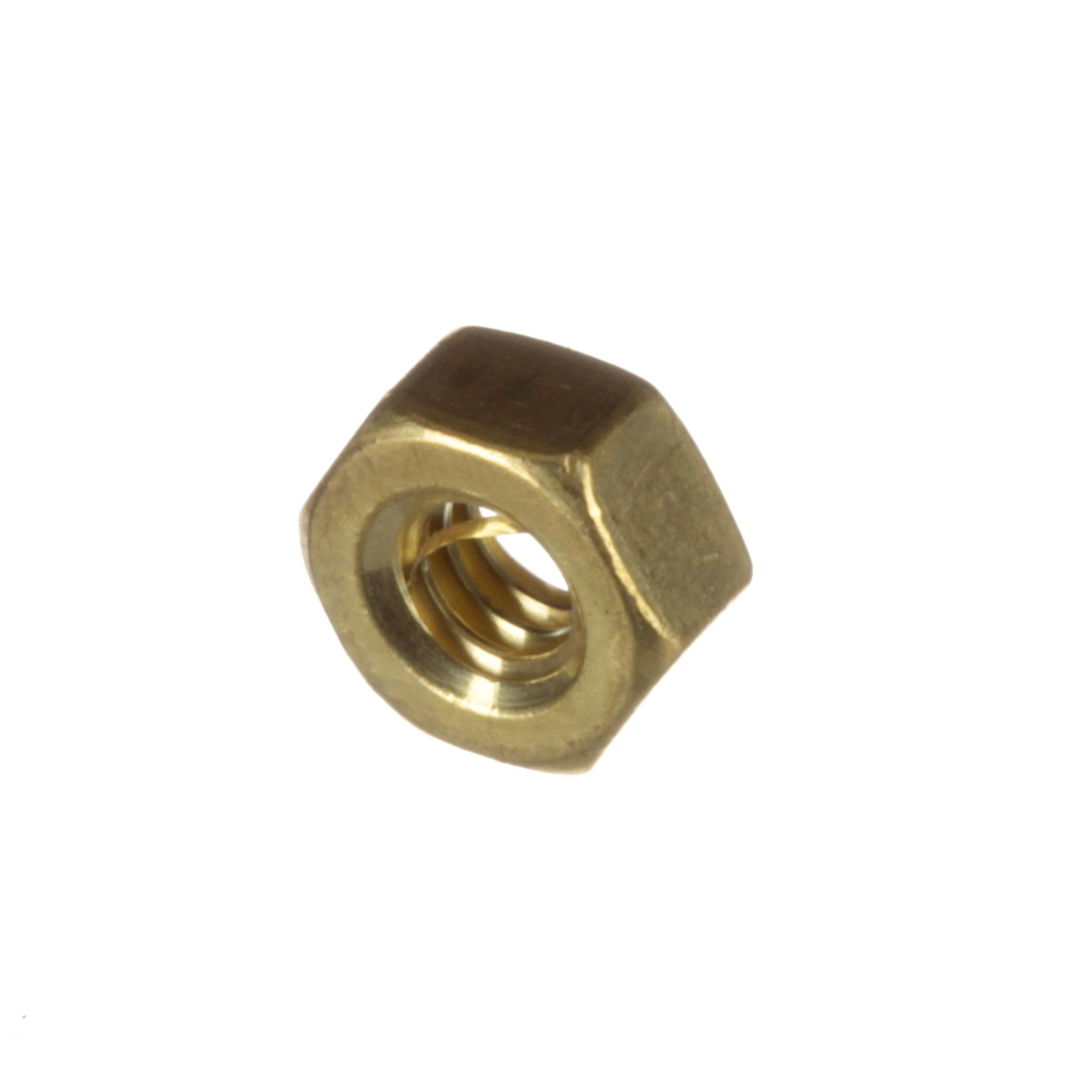 CLEVELAND NUT;1/4-20; 7/16 HEX; BRASS