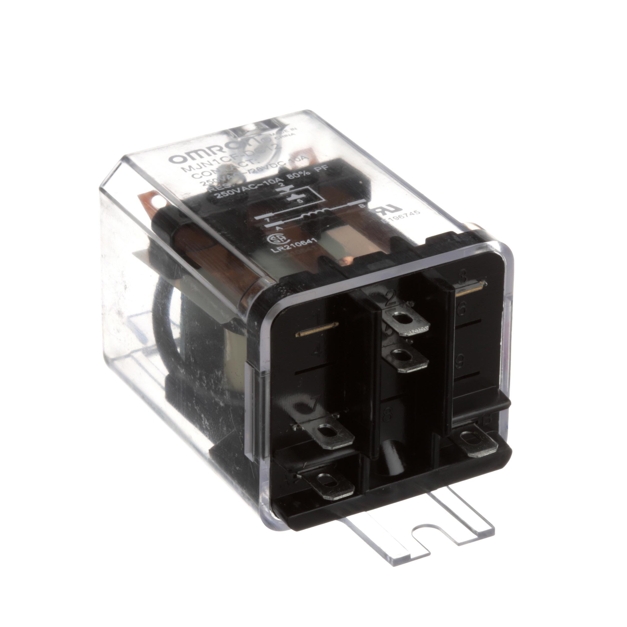 CLEVELAND RELAY;SPDT/10A/12VDC OMRON #MJN1CF-DC12